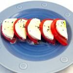 モッツァレラチーズとトマトのサラダ
