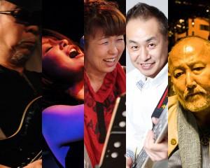 西野やすし(G,Vo) MISUMI(Vo) 和田八美(Key) 須藤満(B) 東原力哉(Ds)