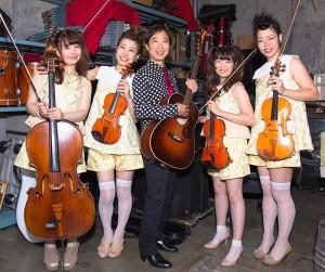 杉 真理 with Moment String Quartet